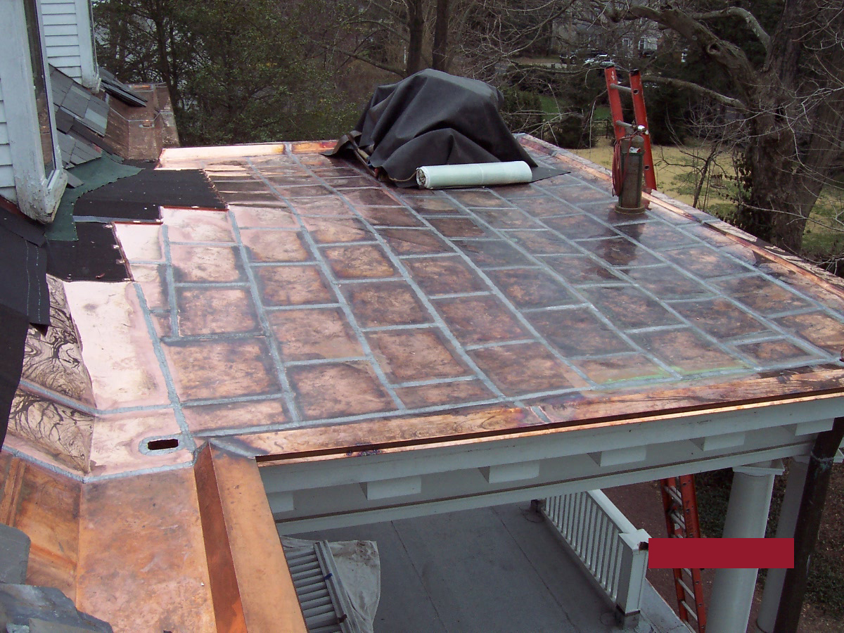 Ornate Copper Roof Commercial and Residential Services Russell Roofing And Exteriors