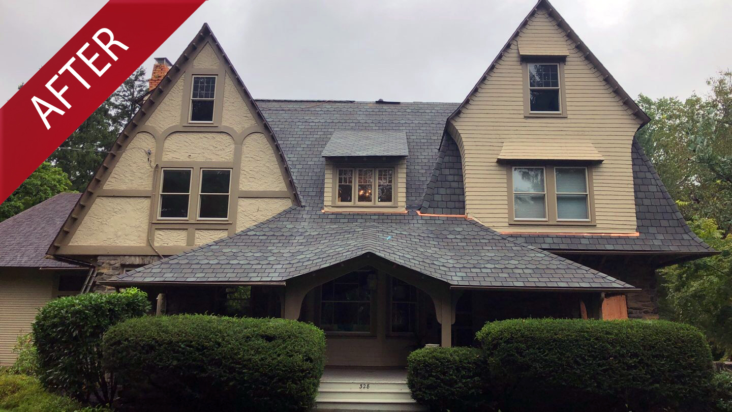 Exterior design before Commercial and Residential Services Russell Roofing And Exteriors