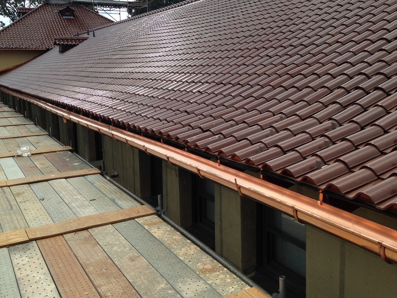 Gutters Copper Commercial and Residential Services Russell Roofing And Exteriors