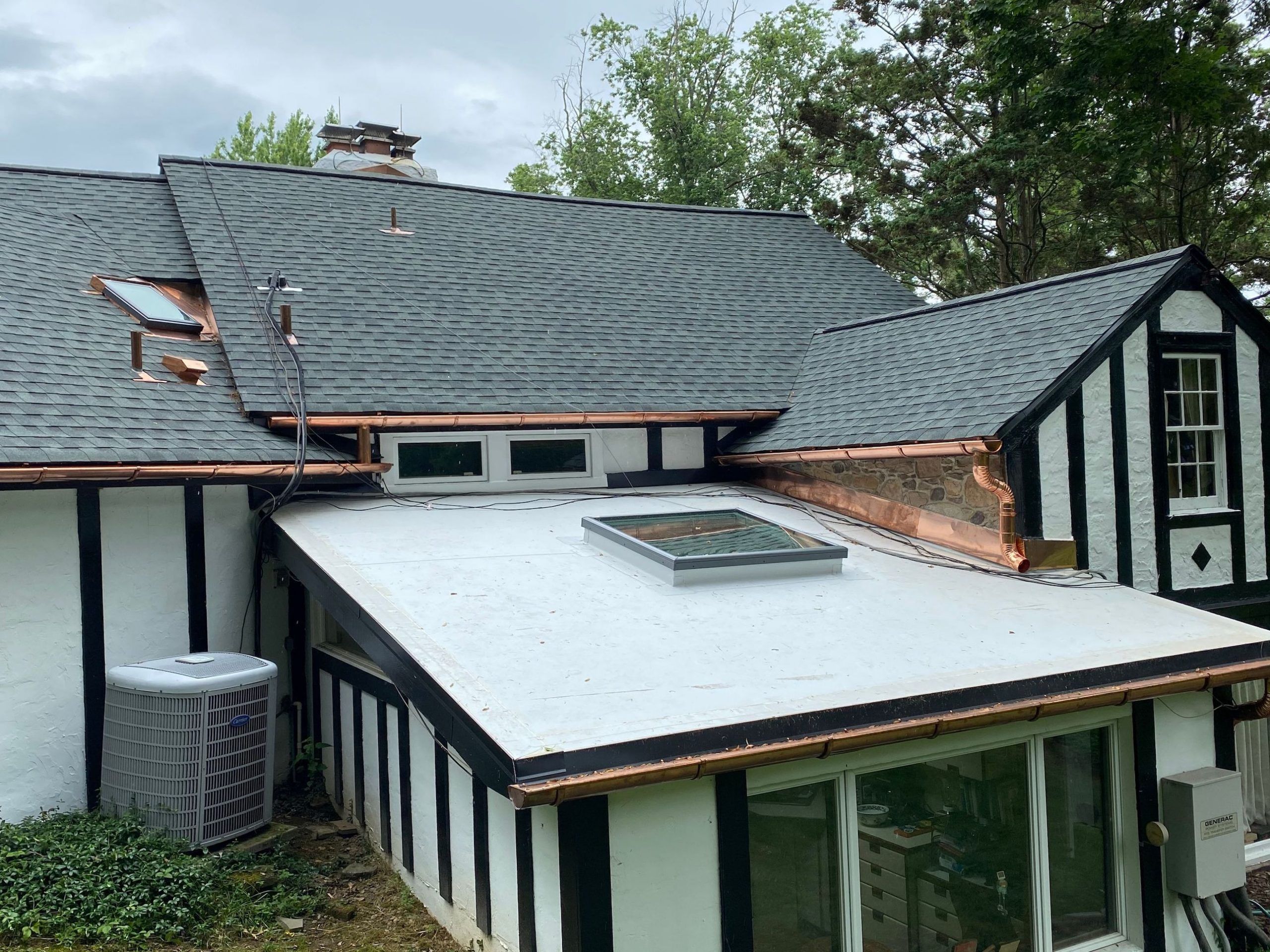 Metal Work Gutters Commercial and Residential Services Russell Roofing And Exteriors