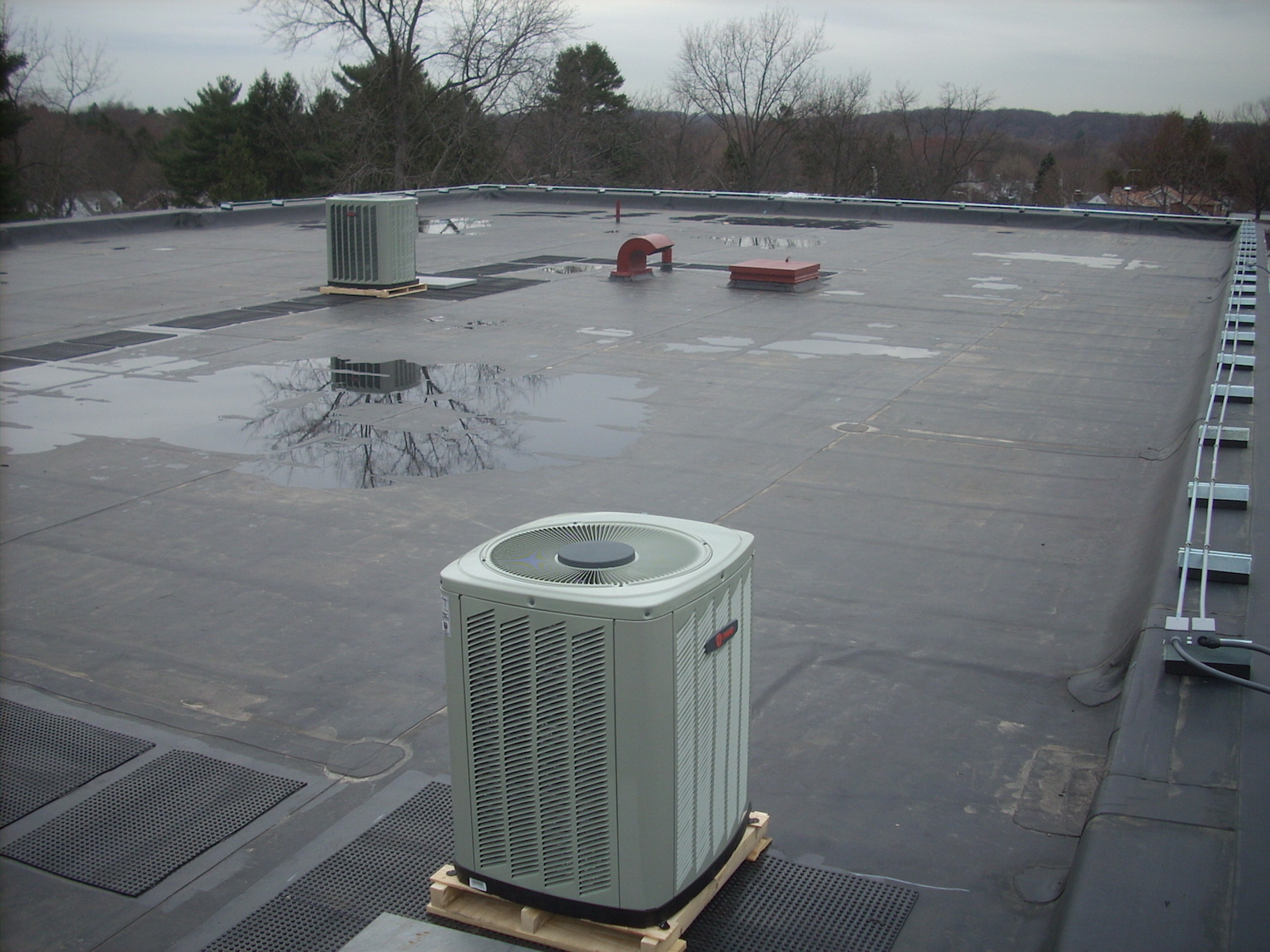 EPDM and TOD Commercial Roof Services Russell Roofing And Exteriors