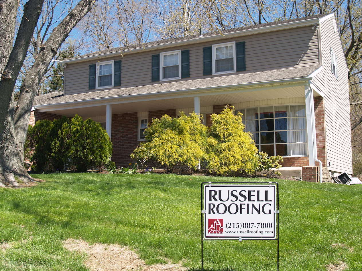 Residential Home Siding - Russell Roofing