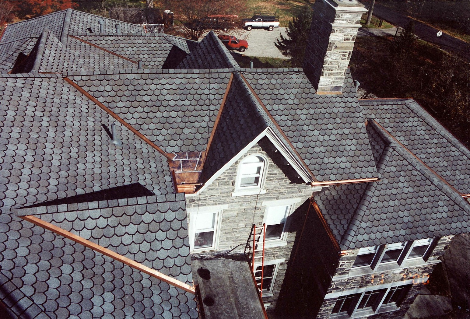 Metal Work new and old material Commercial and Residential Services Russell Roofing And Exteriors