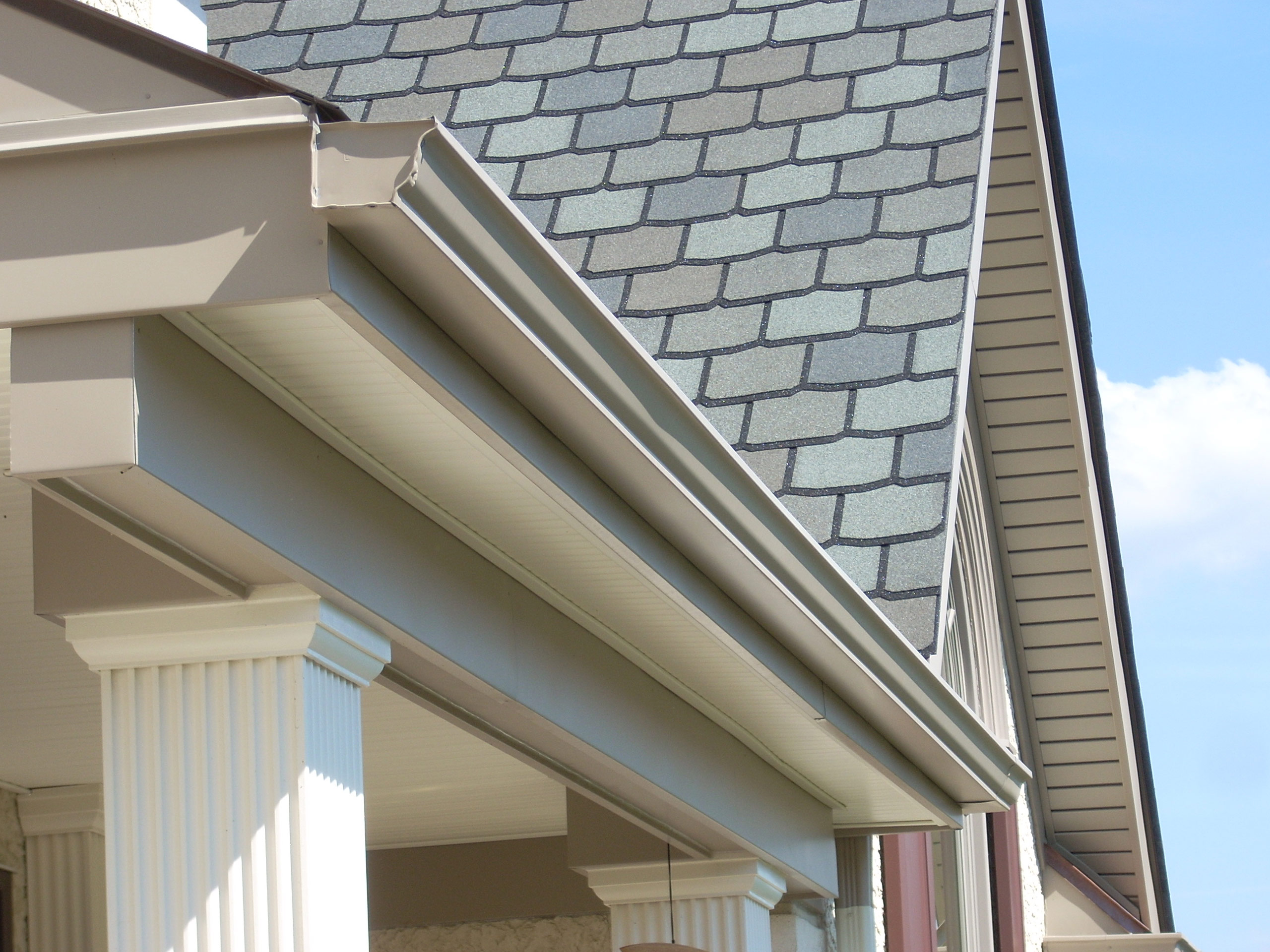 Gutters Commercial and Residential Services Russell Roofing And Exteriors