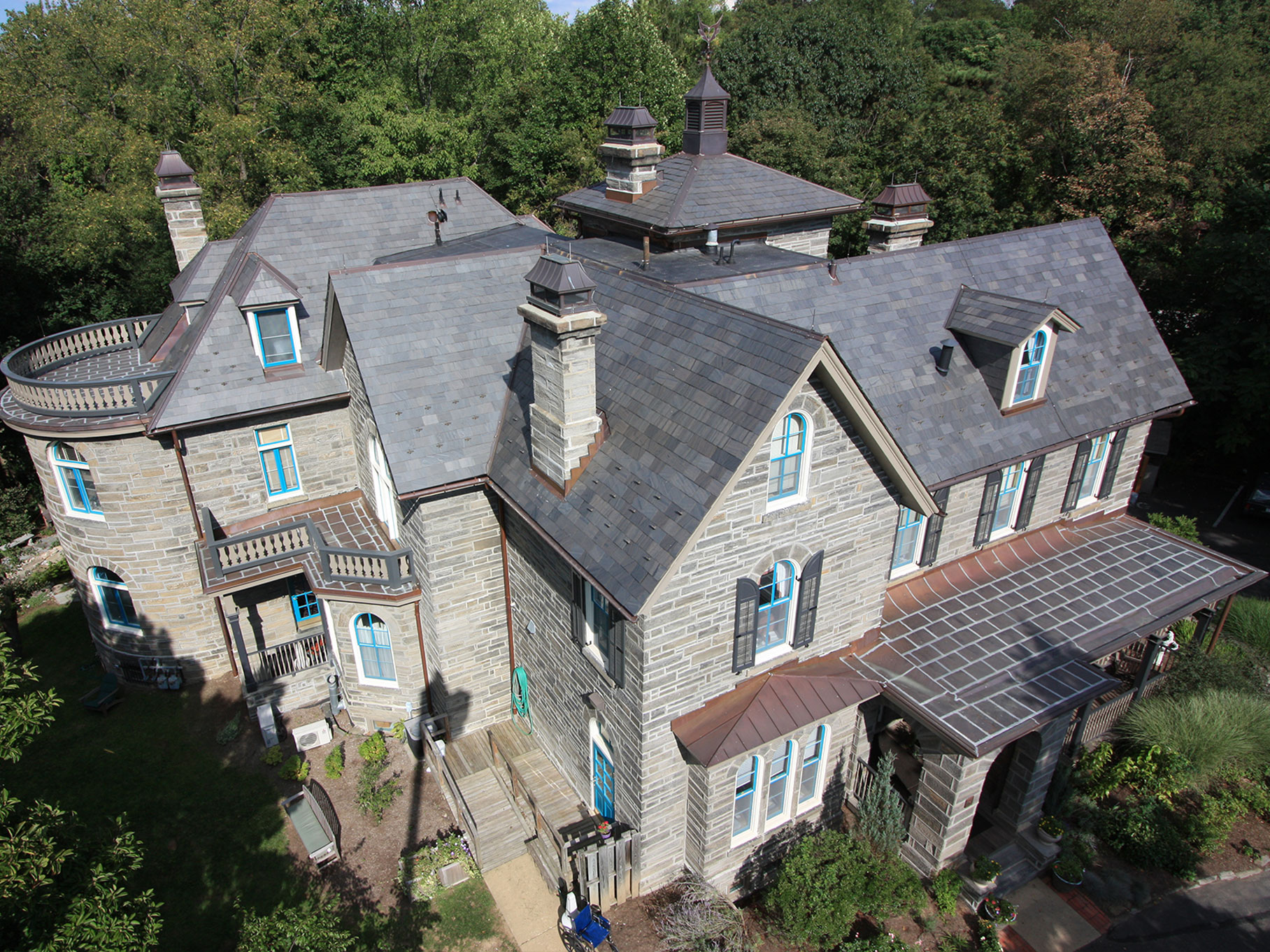 Slate Commercial Roof Services Russell Roofing And Exteriors