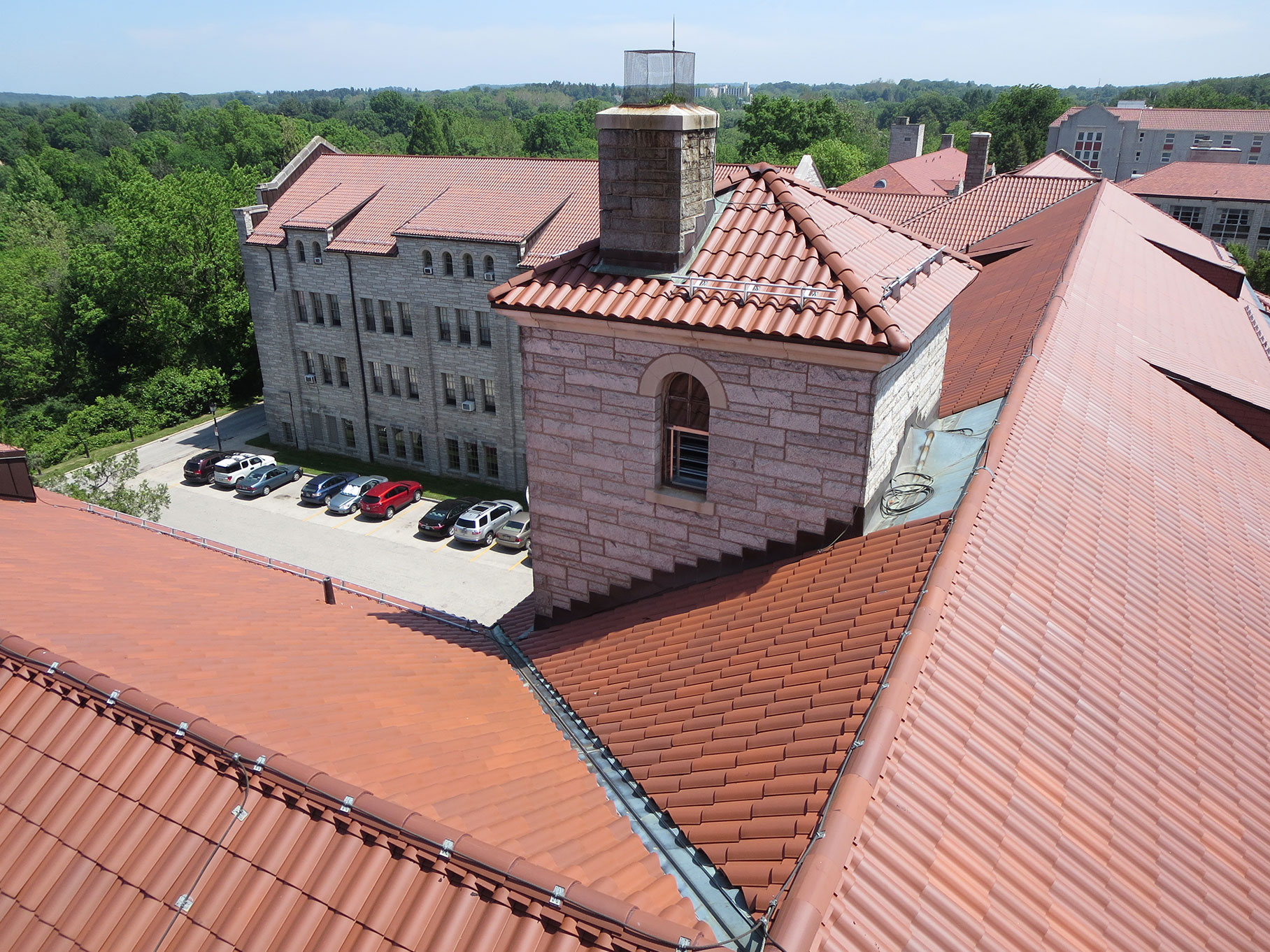 Tile Commercial Roof Services Russell Roofing And Exteriors